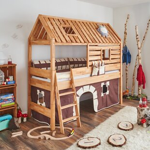 Kylie European Single Loft Bed By Zoomie Kids