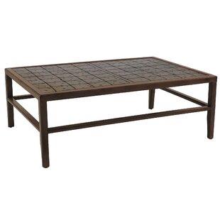 Leona Heritage Aluminum Coffee Table