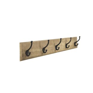 Vidal Wall Mounted Coat Rack By August Grove