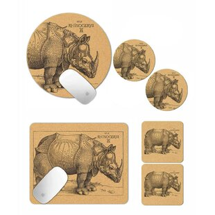 Bullins Rhinocerus 6 Pieces Office Set By Brambly Cottage