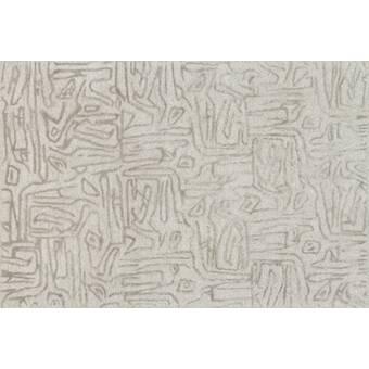 Orren Ellis Rusch Hand Tufted Silver Area Rug Wayfair