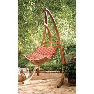 Beachcrest Home Ruth Swing Chair with Stand