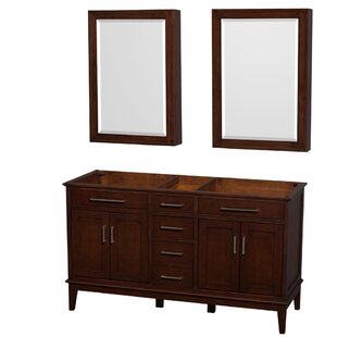 Hatton 59 Double Bathroom Vanity Base by Wyndham Collection