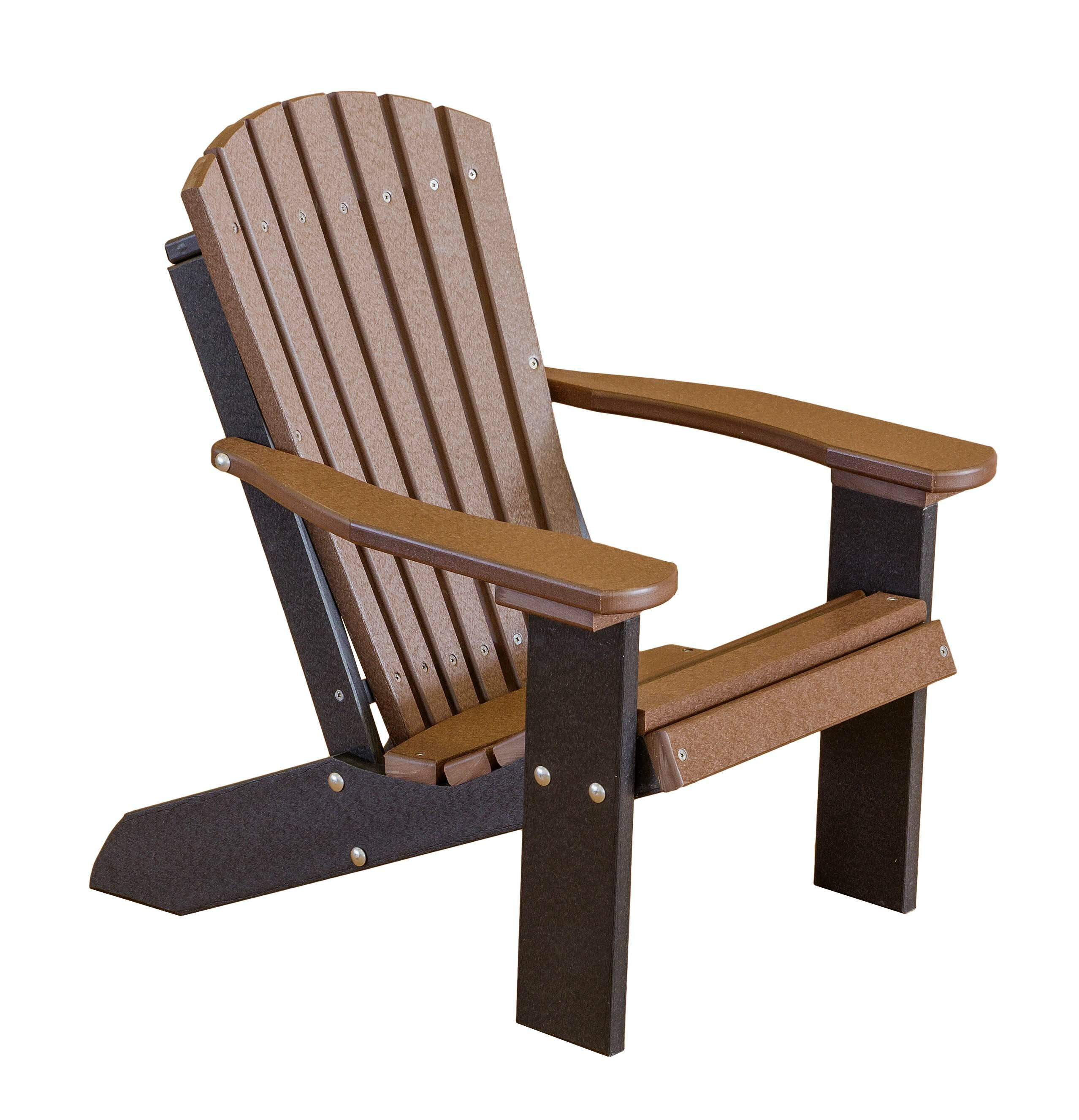 Picture of: Rosecliff Heights Patricia Child S Plastic Resin Adirondack Chair Reviews Wayfair