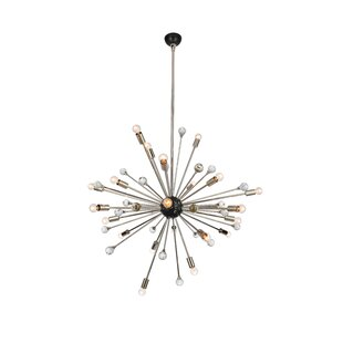 Brayden Studio Bonelli 24-Light Sputnik Chandelier