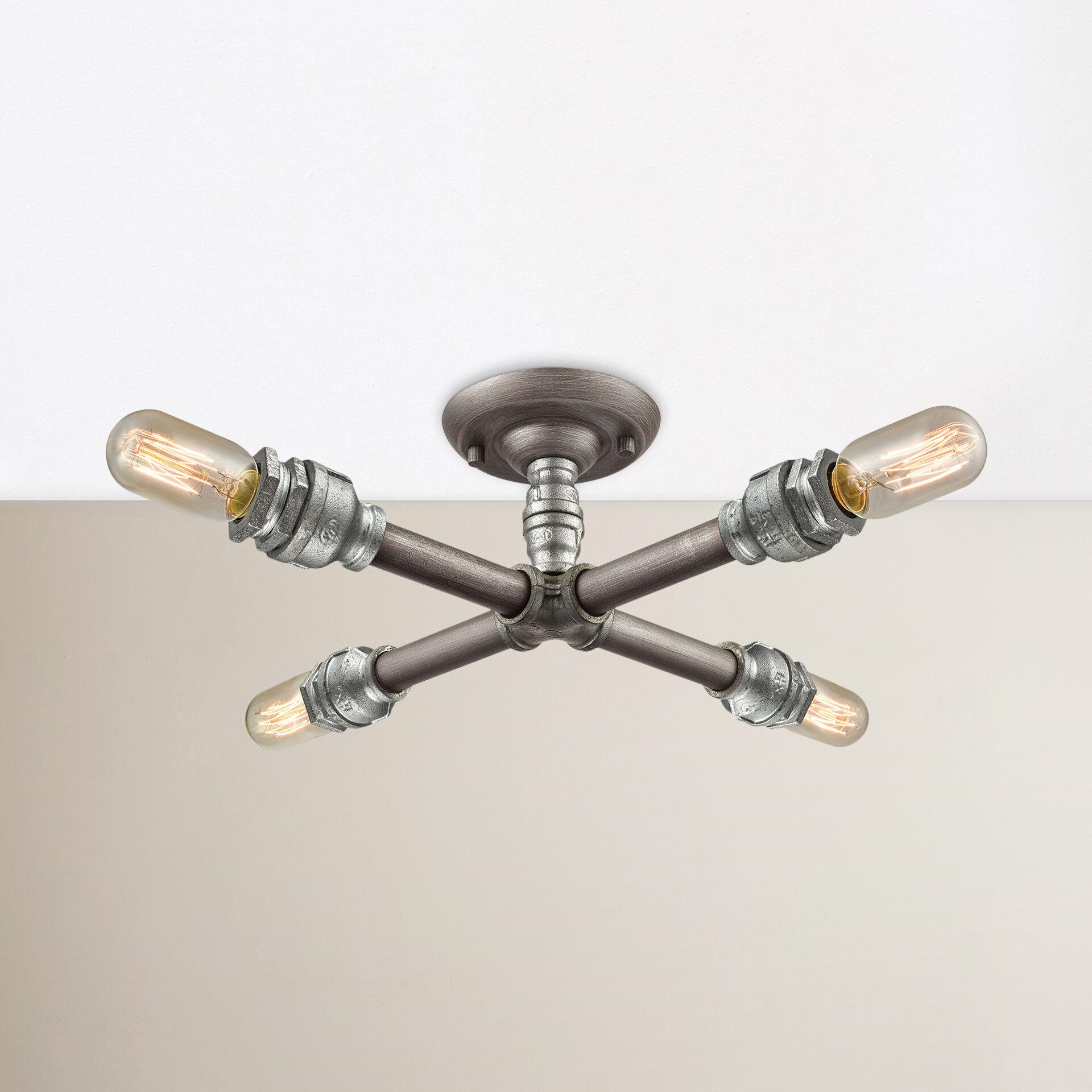 Corrigan Studio Hesperia 4 Light 16 Sputnik Modern Linear Directional Spotlight Reviews Wayfair