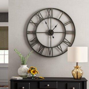 2d35b1d909 Oversized Wall Clocks You'll Love in 2019 | Wayfair
