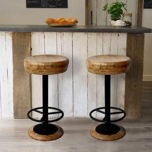 Henning 24 Bar Stool Gracie Oaks