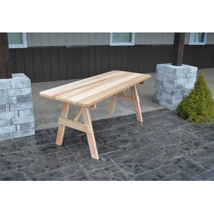 A&L Furniture Traditional Wooden Picnic Table