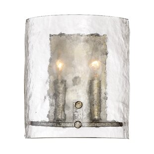 Hasse 2-Light Flush Mount by Highland Dunes