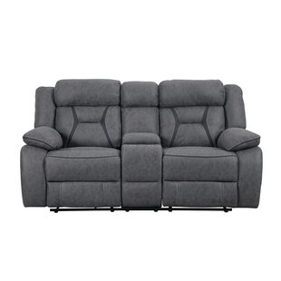 Tien Reclining Motion Sofa With Console by Latitude Run Great price