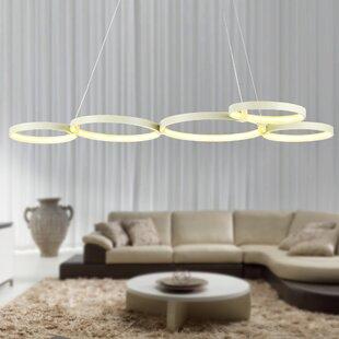 Huntleigh 5-Light LED Geometric Chandelier