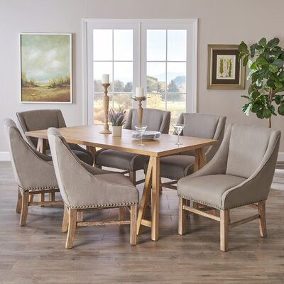 Williamsville 7 Piece Dining Set by Darby Home Co