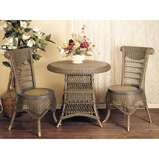 Classic 3 Piece Dining Set Spice Islands Wicker