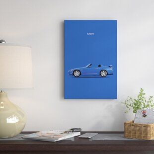 '2009 Honda S2000' Graphic Art Print on Canvas By East Urban Home