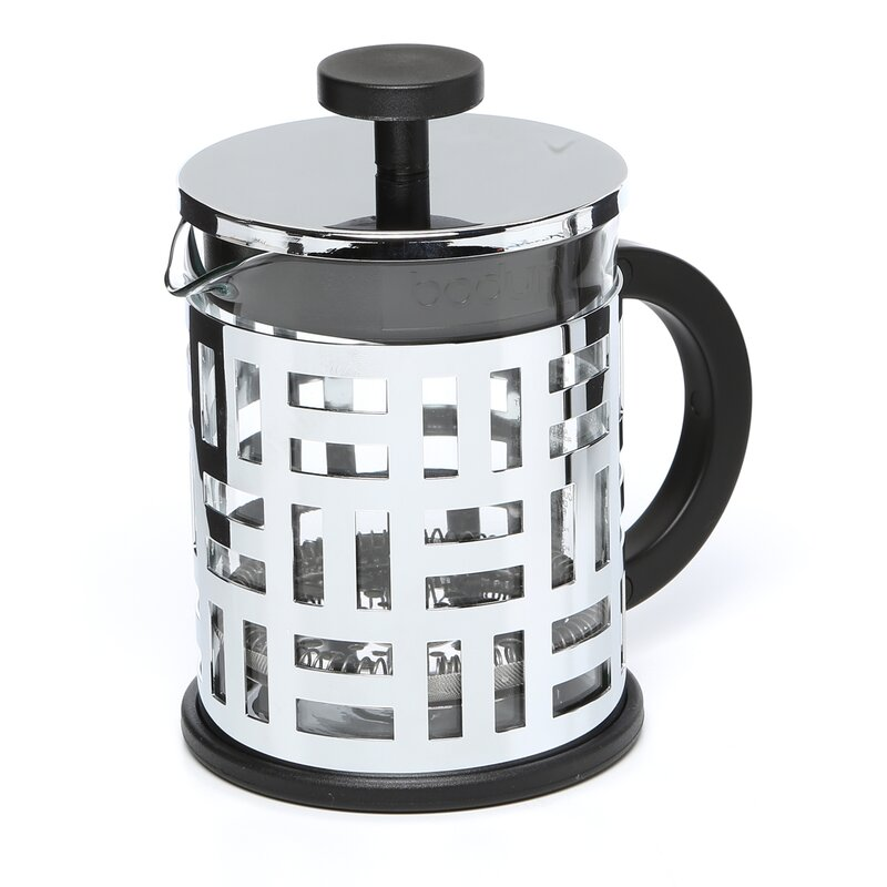 Bodum French Press Coffee Maker Instructions : French Press Coffee Instructions Bodum Bodum Brazil French Press Coffee Maker Reviews Wayfair ...