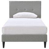 Abramson Upholstered Platform Bed by Zipcode Design™