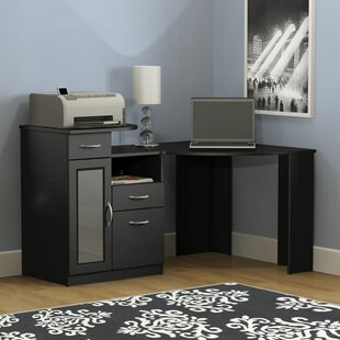 EmeraldCove Corner Desk by Ebern Designs Today Only Sale