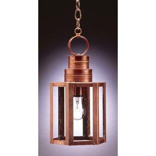 Northeast Lantern Hardwick 1-Light Outdoor Hanging Lantern