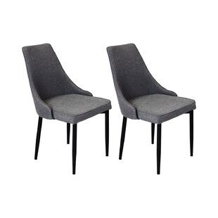 Arwood Upholstered Dining Chair (Set Of 2) By Mercury Row