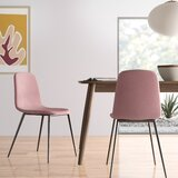 Modern Contemporary Blush Pink Dining Chair Allmodern