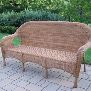 Kingsmill 3 Person Settee by Rosecliff Heights