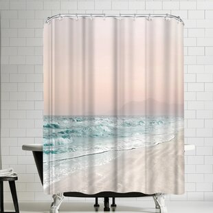 Hope Bainbridge Beach Vibes VI Shower Curtain