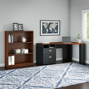 Wheaton 2 Piece L-Shape Desk Office Suite