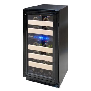 Vinotemp 28 Bottle Panel Ready Dual Zone Convertible Wine Cooler