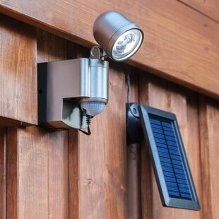 Mishka LED Solar Outdoor Sconce By Sol 72 Outdoor
