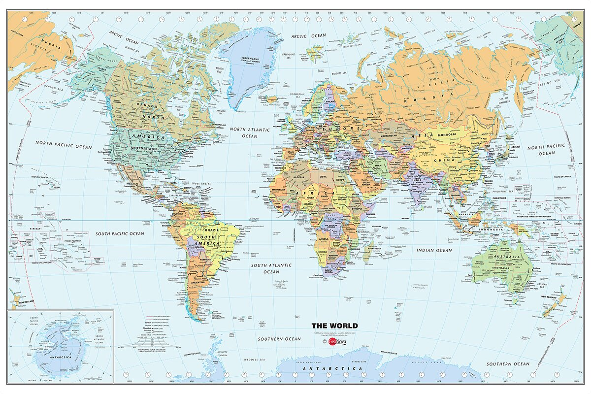 World map outline mural gallery diagram writing sample and guide wallpops world dry erase map wall mural reviews wayfair world dry erase map wall mural sciox sciox Image collections