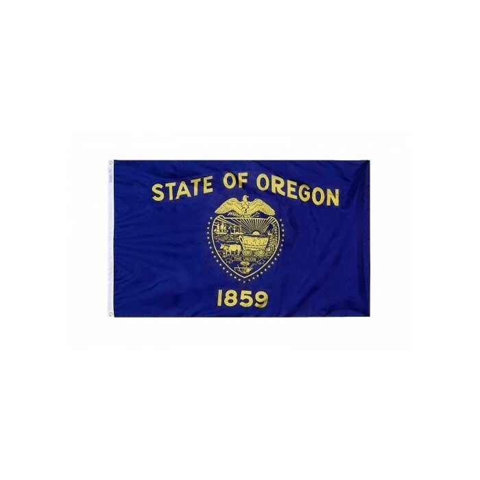 Brass Grommets You Pick Oregon State Flag All Sizes Quality Nylon