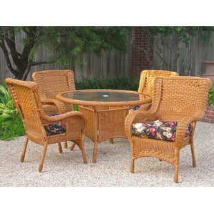 Indoor/Outdoor Wicker Patio Premium U Shape Cushion (Set Of 4)