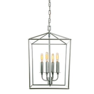 Brayden Studio Cheung 4-Light Foyer Pendent