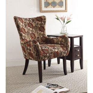 Carneys Wingback Chair by Latitude Run