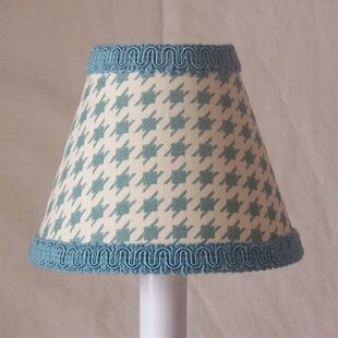 Humpty Dumpty Houndstooth 11 Fabric Empire Lamp Shade