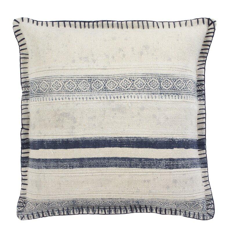 cotton throw pillow cover