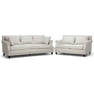 Comparison Colegrove 2 Piece Living Room Set by Alcott Hill Reviews (2019) & Buyer's Guide
