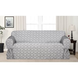 Reviews Box Cushion Sofa Slipcover by Astoria Grand Reviews (2019) & Buyer's Guide