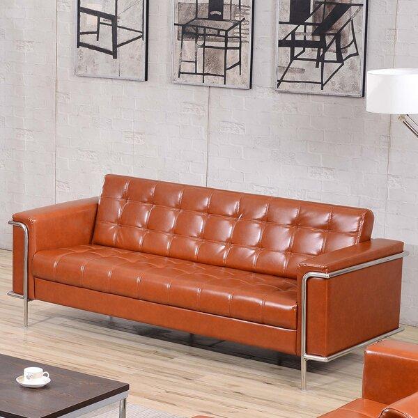 Tan Leather Sofa Wayfair