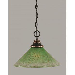 Chenery 1-Light Bowl Pendant by Red Barrel Studio