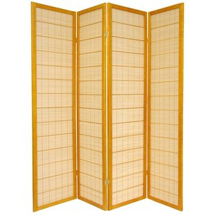 72 X 56 Kimura Shoji 4 Panel Room Divider By Oriental Furniture