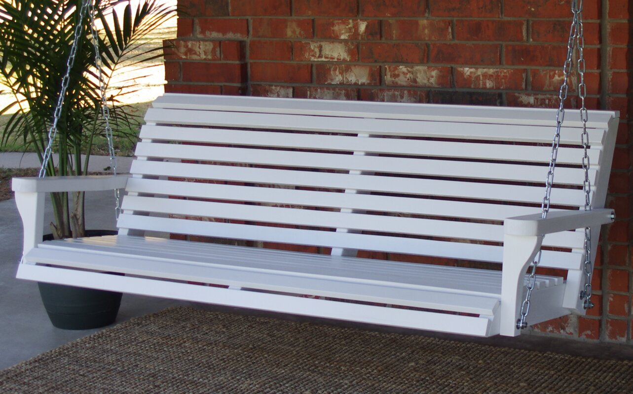 Corman Classic Style Porch Swing August Grove