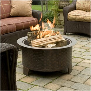 CobraCo Woven Cast Iron Wood Burning Fire..