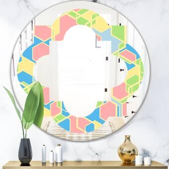 World Menagerie Eatonton Modern Contemporary Beveled Full Length Mirror Reviews Wayfair