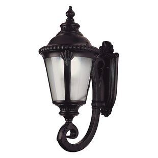 Check Prices Villegas 1-Light Outdoor Wall Lantern By Astoria Grand