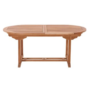 Veroniza Extendable Teak Dining Table By Sol 72 Outdoor