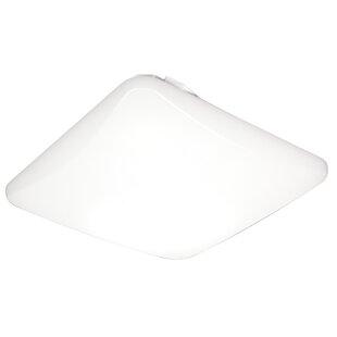 Lithonia Lighting Litepuff LED Low-Profile Residential Square Flush Mount