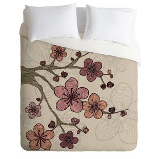 East Urban Home Blossom Duvet Cover Set