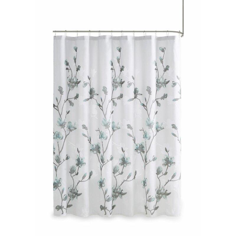 Reva Fl Single Shower Curtain